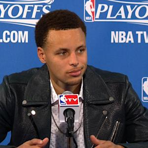 Curry on Game 1 victory