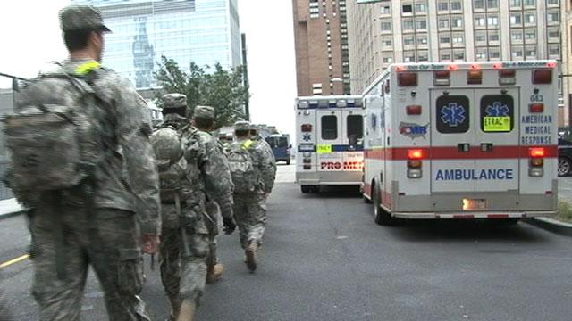 Bellevue Hospital Evacuates Patients