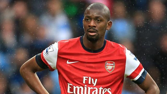 Premier League - Diaby hopeful about return, targets World Cup