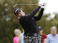 FILE - In this May 29, 2016, file photo, Ariya Jutanugarn, of Thailand, hits from the second tee during the final round of the LPGA Volvik Championship golf tournament at the Travis Pointe Country Club, in Ann Arbor, Mich. A day ahead of the start of the Women's Australian Open at Royal Adelaide, the 21-year-old Thai golfer also says she's not putting pressure on herself to overtake Lydia Ko for the No. 1 ranking. Jutanugarn will tee off in the first round on Thursday afternoon, Feb. 16, 2017. (AP Photo/Jose Juarez, File)