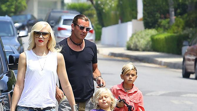 Gwen Stefani and Family Celebrate