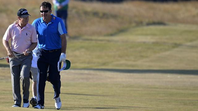 The Open Championship - Faldo hints at Open swansong