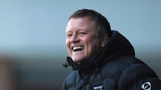 Chris Wilder's Oxford ended a six-game losing run