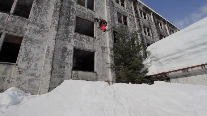 Tower Block Skiing