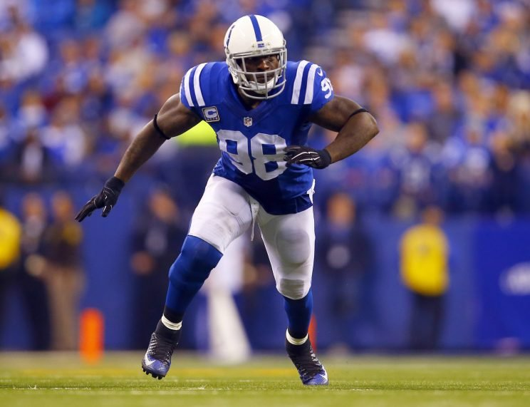 Robert Mathis announced he's retiring after this season. (AP)