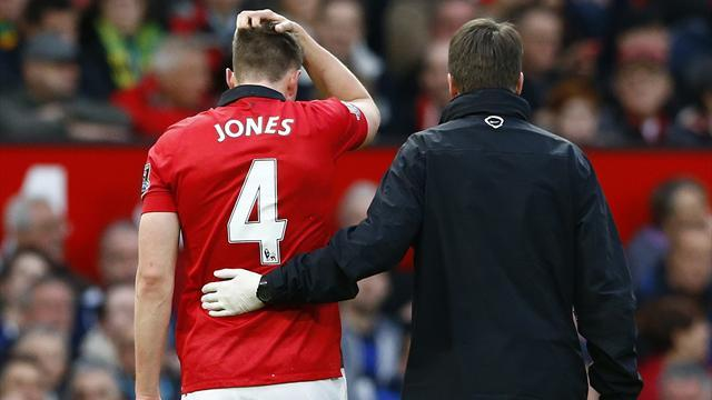 World Cup - Phil Jones 'should be fit' to make Brazil finals