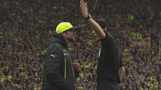 Dortmund suffer defeat at home to Monchengladbach