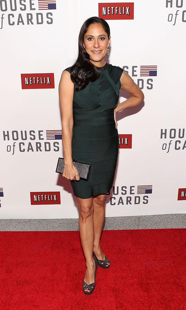 "Netflix's ""House Of Cards"" Washington DC Screening: Sakina Jaffrey"