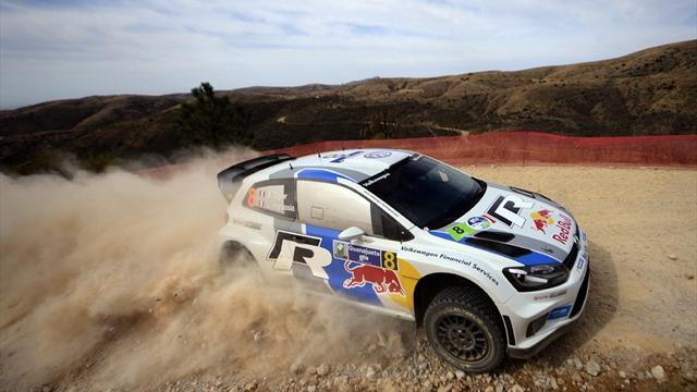 WRC - Ogier leads into Saturday in Mexico