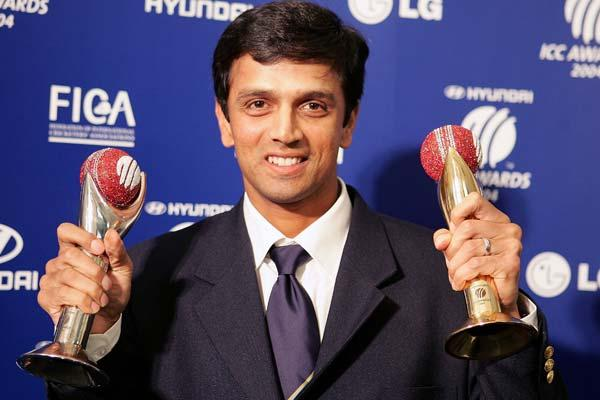 Rahul Dravid was the first recipient of the first ICC Cricketer of the Year Award when it was instituted in 2004. He also won the inaugural Test Player of the Year award. In 2006, ICC named him as the