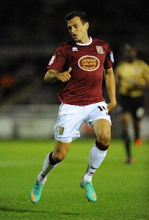 Northampton Town's Alex Nicholls faces up to nine months on the sidelines