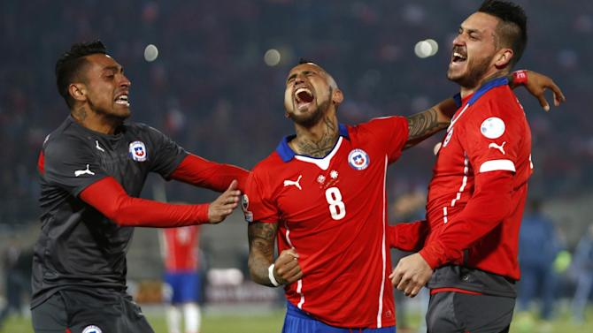 Football - Copa America review: Vidal drives magnificent Chile, Brazil falter without Neymar… again