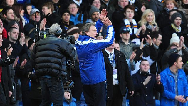 Football - Warnock rounds on critics after cup win