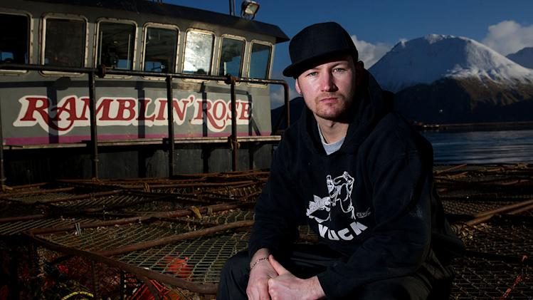 "Ramblin' Rose Captain Elliott Neese stars in ""Deadliest Catch."""