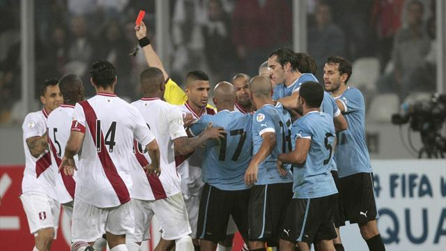 Football - Peru's Yotun handed two-match ban for Suarez incident