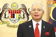 Najib promises peaceful transition of power