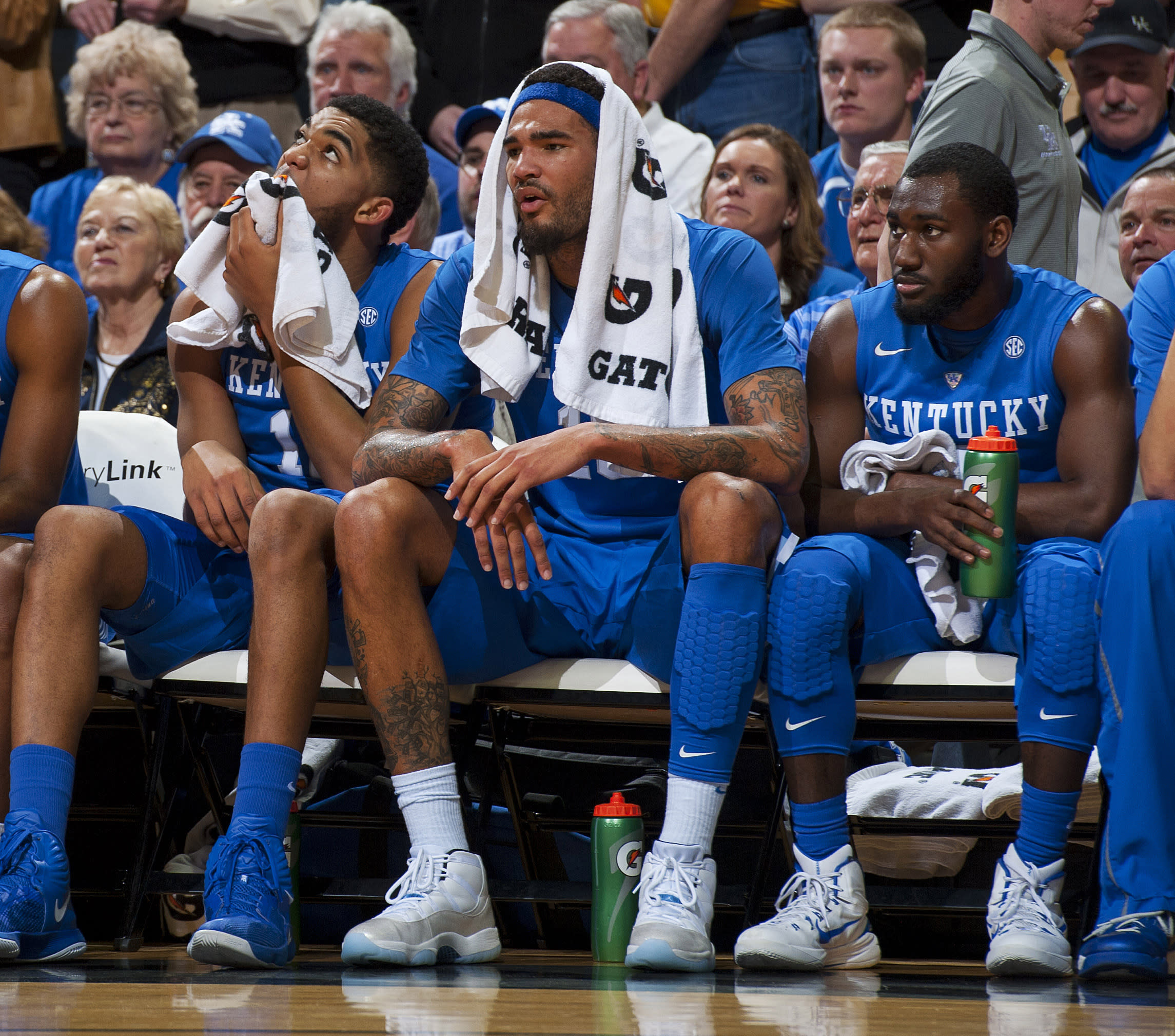 Top-ranked UK keeps rolling as Cauley-Stein goes missing