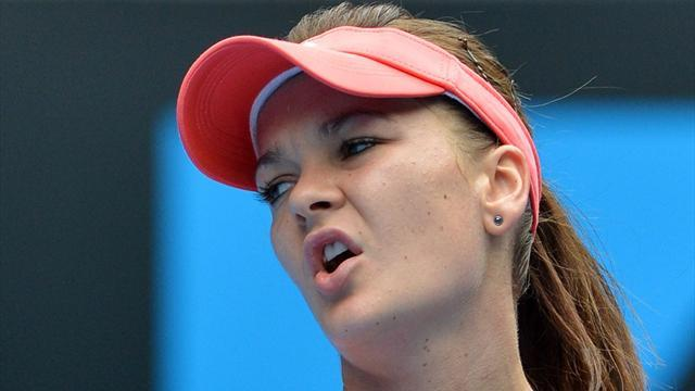 Australian Open - Radwanska targets gym for more work