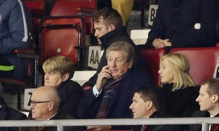 Former England manager Roy Hodgson in the stands