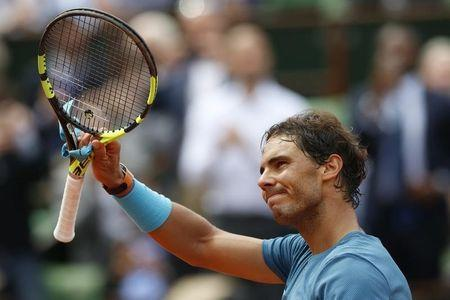Tennis - French Open - Roland Garros - Rafael Nadal of Spain vs Facundo Bagnis of Argentina