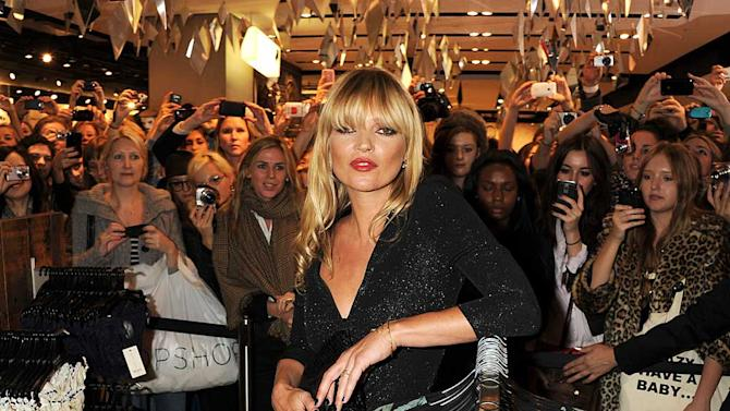 Moss Kate Topshop Launch