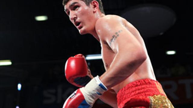 Boxing - Askin asking for title shot
