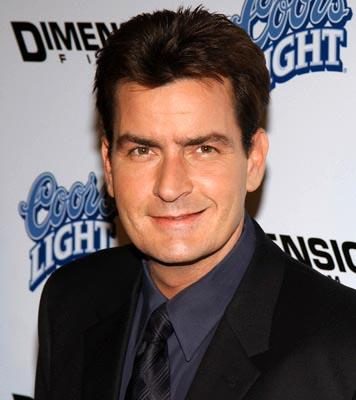 Premiere: Charlie Sheen at the LA premiere of Dimension's Scary Movie 3 - 10/20/2003