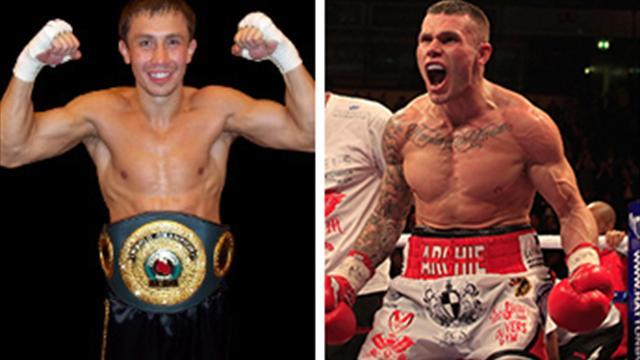 Boxing - Golovkin makes offer to Murray