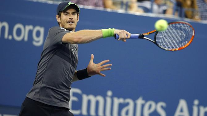 US Open - Murray: Tough, challenging... I'll love every minute