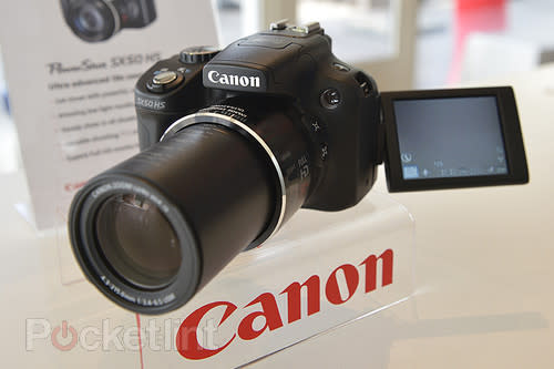 Canon PowerShot SX50 HS pictures and hands-on. Cameras, Photokina2012, Canon, Canon PowerShot SX50 HS, Compact cameras, Photos 0