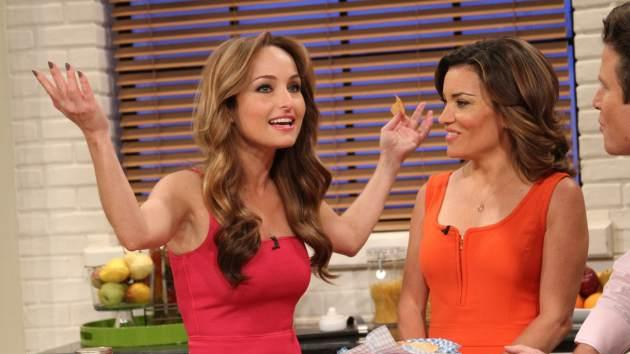 Giada De Laurentiis stops by Access Hollywood Live on June 25, 2013 -- Access Hollywood
