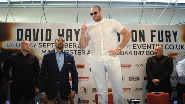 Boxing - Tyson Fury: I know Chisora won't pull out