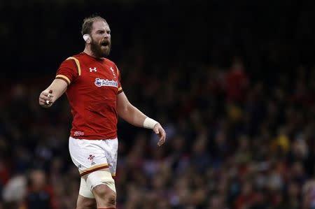 Wales' Alun Wyn Jones