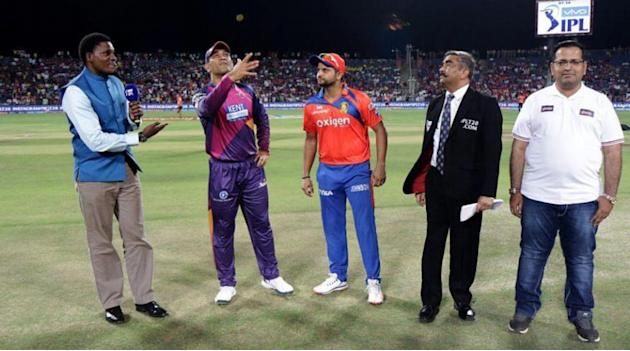 Live Cricket Score, IPL 2016, Pune vs Gujarat: RPS lose toss, asked to bat by GL in Pune
