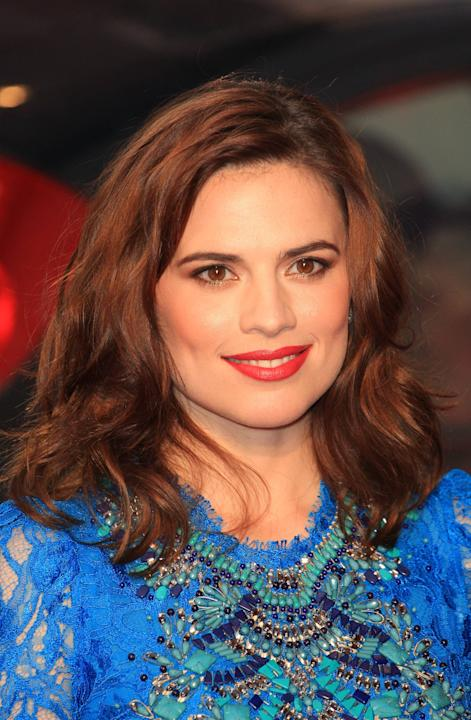 Hayley Atwell The Sweeney UK film premiere held at the Vue cinema - arrivals London, England - 03.09.12      Mandatory Credit: Lia Toby/WENN.com