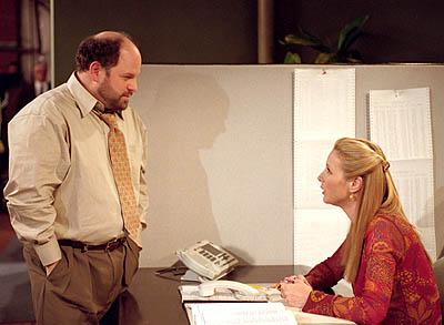 """Jason Alexander and Lisa Kudrow in """"The One With Where Rosita Dies"""" in NBC's Friends"""