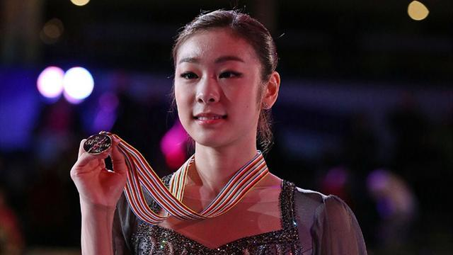Figure Skating - Kim relieved her skating career is over