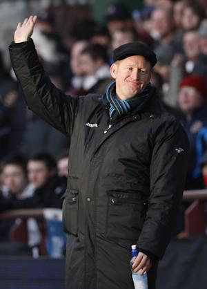 Steve Lomas was upset following St Johnstone's loss to Hibs