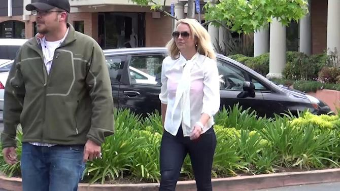 Britney Spears Looks Tired After Las Vegas Residency Rehearsals