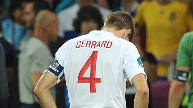 Euro 2012 - Gerrard heartbroken after Euro exit