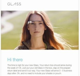 Why Cant Google Fix Google Glass? image Google Glass return notice