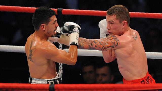Boxing - Frampton to fight Martinez in Belfast