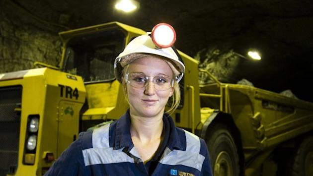 The resources, mining and construction industries have been commended for the progress they have made in employing women