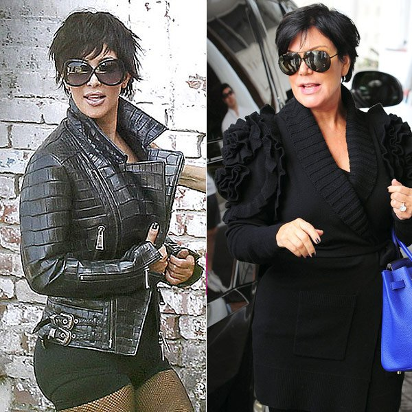 Kim Kardashian Vs. Kris Jenner: Can YOU Tell The Difference?