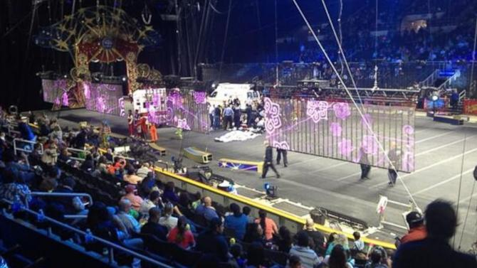 Circus Acrobats Plunge in Horrifying Collapse