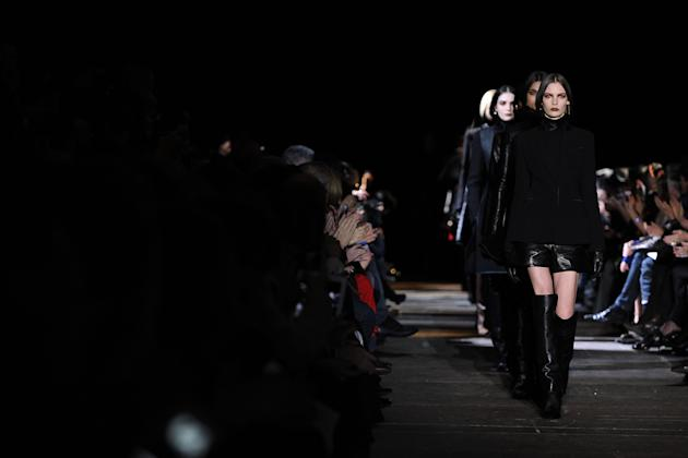 Givenchy: Runway - Paris  Fashion Week Womenswear Fall/Winter 2012