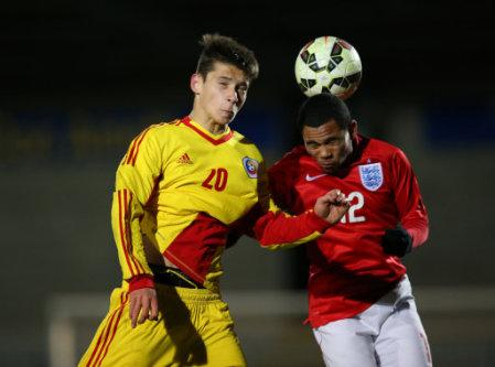 Soccer - UEFA Under-17 Championship - Elite Round - Group 6 - Romania v England - Pirelli Stadium