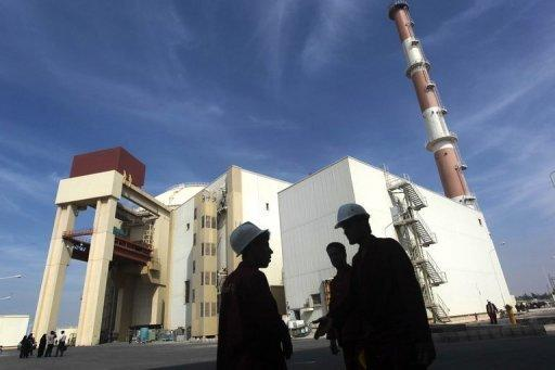 """The reactor building at Iran's Bushehr nuclear power plant is pictured on October 26, 2010. Russia has put pressure on Iran by noting that it expected to see """"serious progress"""" made at this month's talks in Kazakhstan over Tehran's disputed nuclear programme"""