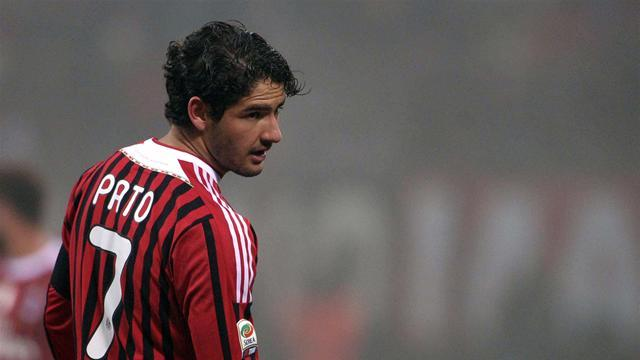 Pato back in training with AC Milan