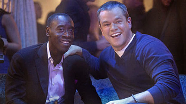 """House of Lies"" Matt Damon & Don Cheadle"